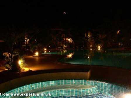 Ландшафтное освещение, подсветка фонтанов, подсветка деревьев 7