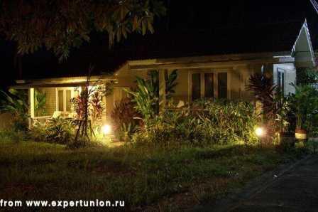Ландшафтное освещение, подсветка фонтанов, подсветка деревьев 11