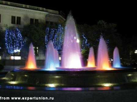 Ландшафтное освещение, подсветка фонтанов, подсветка деревьев 14