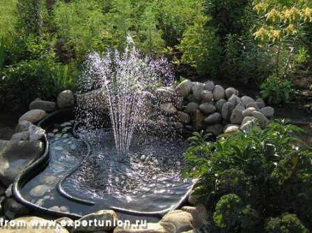 Ландшафтное освещение, подсветка фонтанов, подсветка деревьев 16